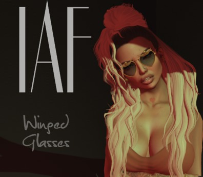 IAF Winged Glasses (Light Gold)