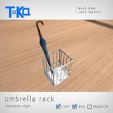 Toka Designs - Umbrella rack (Japanese style)