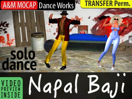 A&M: Napal Baji - solo dance (transfer) :: PSY dance improvisation (kpop, k-pop)