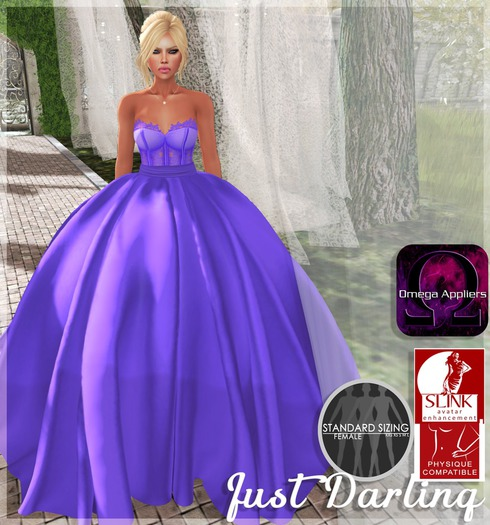 ::Just Darling:: Daydream Gown Purple