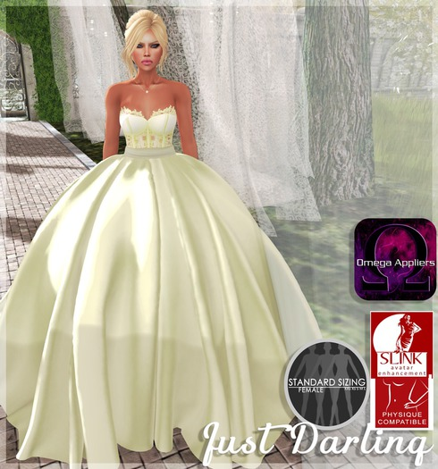 ::Just Darling:: Daydream Gown Canary