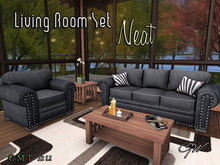 GW Living Room Couch Sofa Furniture Set Neat (PG)