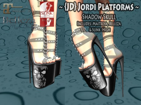 {JD} Jordi Platforms - Shadow Skull