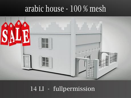 arabic house - mesh - builder edition