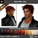 A&A Miko Hair 11 Colors Variety Pack. Short mens mesh hairstyle