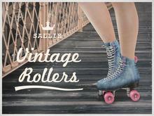 {sallie} Vintage Rollers - blue denim