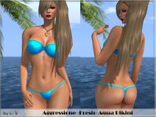 *Aggressione* -Fresh- Aqua Bikini with Appliers PROMO