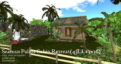 Seamus Palms Cabin Retreat(43LI, 13x16)