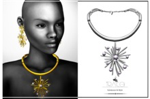 Lyra Necklace Silver by Tracei