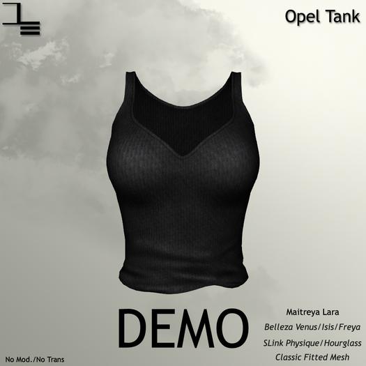 DE Designs - Opel Tank - DEMO