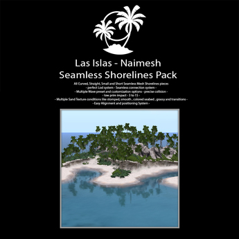Las Islas Seamless Shorelines Pack