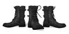 Mens mid calf combat boots 2