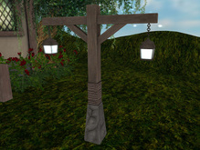 {LORE} Rustic Lamp Double