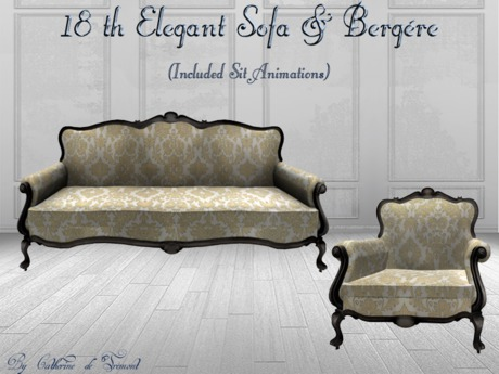 *CdT*  Sofa&Bergere 18eme