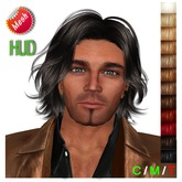 "edeLsToRe man mesh hair "" Tom "" incl all colors incl HUD"