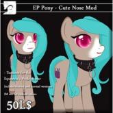 [JD] Pony cute nose