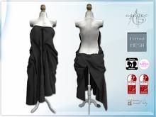 *agp* sexy sheet dress / black