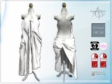 *agp* sexy sheet dress / white