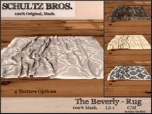 [Schultz Bros. Boxed] Beverly Rug
