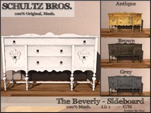 [Schultz Bros. Boxed] Beverly Sideboard