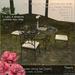 hanaya  fairies garden dining set