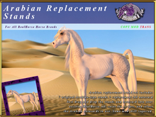 *E* RealHorse Arabian Replacement Stands [BOXED]