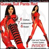 SHi Queen Suit Pants Version Red