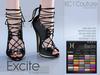 -KC- EXCITE HEELS / MAITREYA, BELLEZA, SLINK, EVE & MESHPROJECT