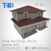 Toka Designs - Prop Buildings Series - House 01 (Low impact)