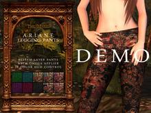 The Muses . Ariane Legging Pant . DEMO