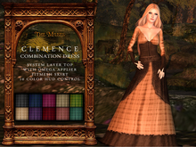 The Muses . Clemence . Combination Dress (Fitmesh + Applier)