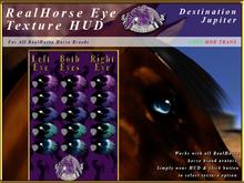 *E* RealHorse EyeTexture HUD [BOXED] Destination Jupiter