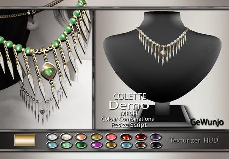 GeWunjo : COLETTE gold necklace DEMO
