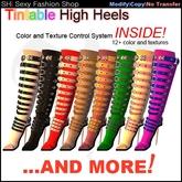SHI Tintable High Heel Boots