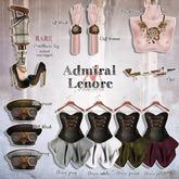 *Tentacio* Admiral Lenore. Dress S white