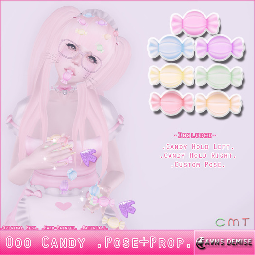 +Fawn's Demise+ Ooo Candy .Pose+Prop.