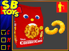 [SB TOYZ] SweetzTooth - Caramel Corn Bag  [Messy Drop]