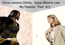 Voice Lesson:  Paid 20 minute