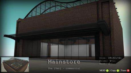 Mainstore - The [Den.] Commercial 50% SALE