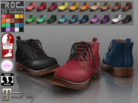 ::ROC:: Martens Boot! Mid (FEMALE)