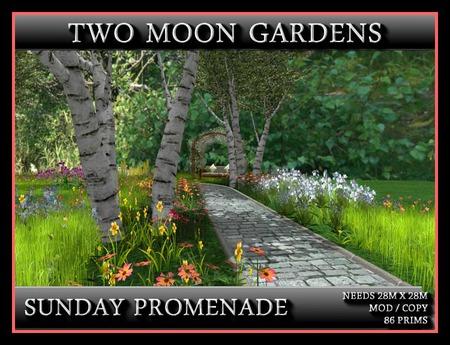 SUNDAY PROMENADE - Landscaped Path