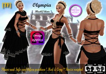 OLYMPIA-Black/Silver(BOXED)