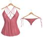 Blueberry - Selena Mesh Satin Top & Panties - Maitreya Lara, Belleza (All), Slink Physique Hourglass - Pixie