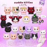 Sweet Thing. Cuddle Kitties - Cheeseburger (Hold L) RARE