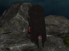 ~/Ethos/~ Battered Tower Shield (Black)