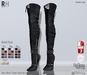 !Rebel Hope - Jane Mesh Thigh High Boots  Rebel Pack