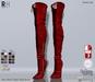 !RH / Jane - Mesh - Thigh - High - Boots - (Red)