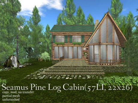 Seamus Pines Log Cabin(57LI, 22x26)