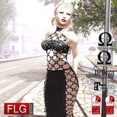 :: FLG Sarah Dress - HUD 10 Models  ::