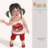 ..MoMenTs..Angry Birds Outfit(Red)Toddleedoo